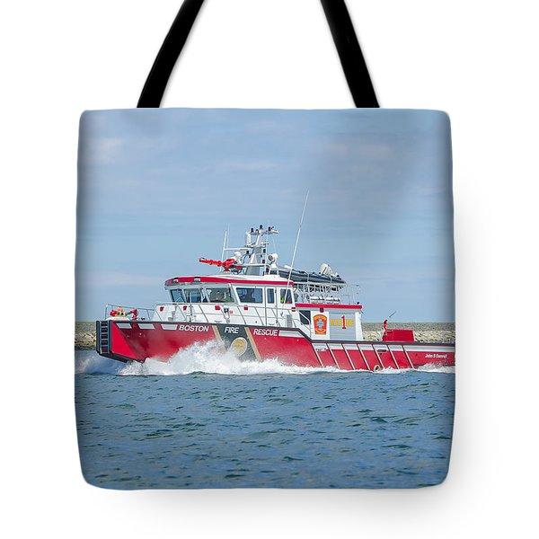 Boston Fire Marine 1 Tote Bag