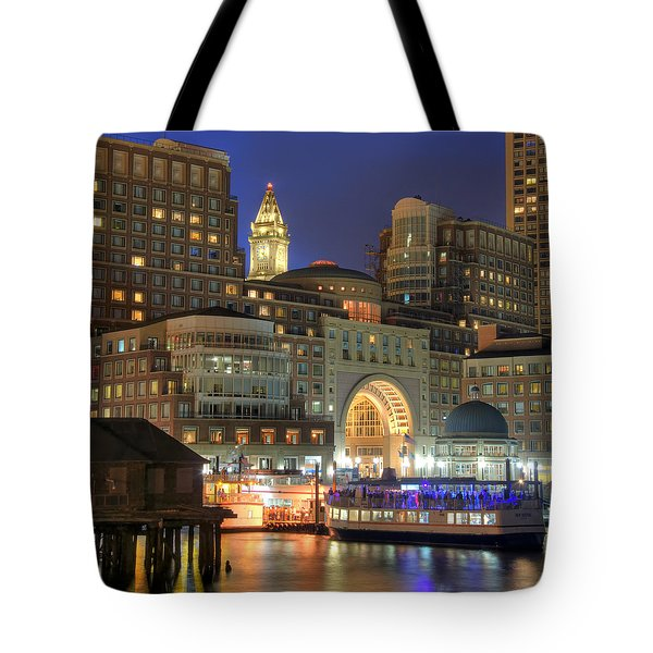 Boston Harbor Party Tote Bag