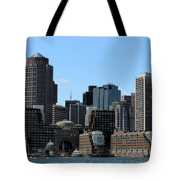 Boston Harbor Tote Bag