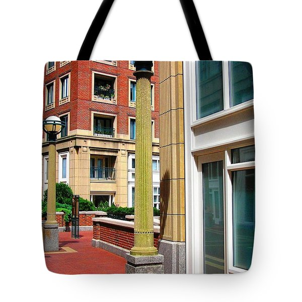 Boston Interior Tote Bag
