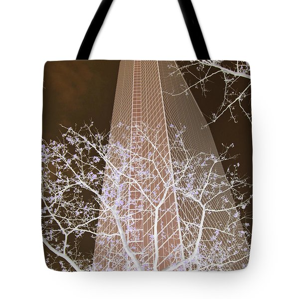 Boston Skyscraper Tote Bag