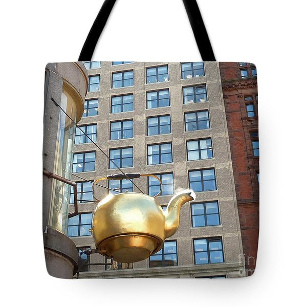 Boston Teapot - Color Closeup Tote Bag