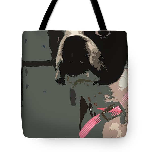 Boston Terrier Art01 Tote Bag by Donald Williams