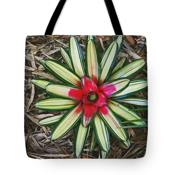 Tote Bag featuring the photograph Botanical Flower by Tom Janca