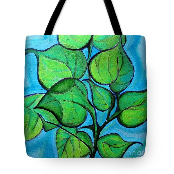 Botanical Leaves Tote Bag