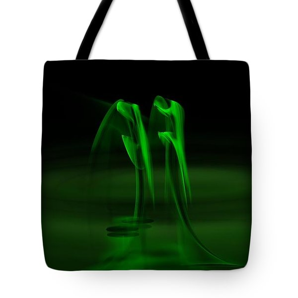 Botanical Life Force Tote Bag by Peter R Nicholls