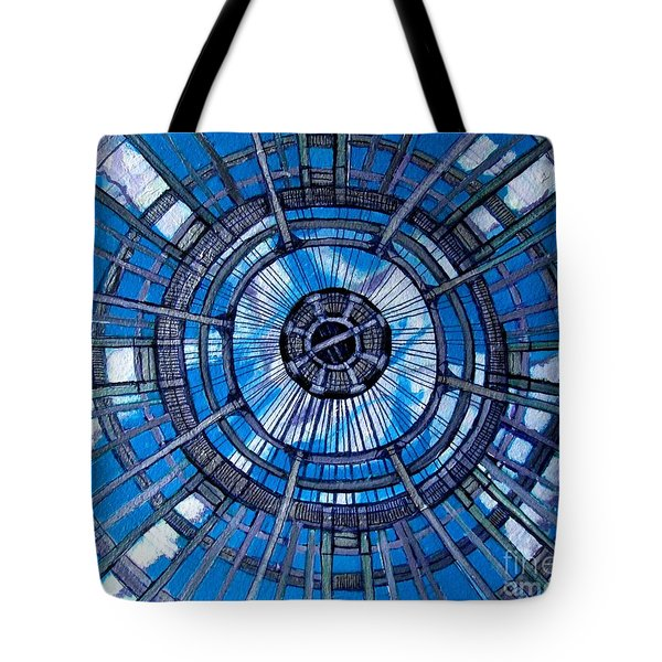 Botanical Looking Up Tote Bag