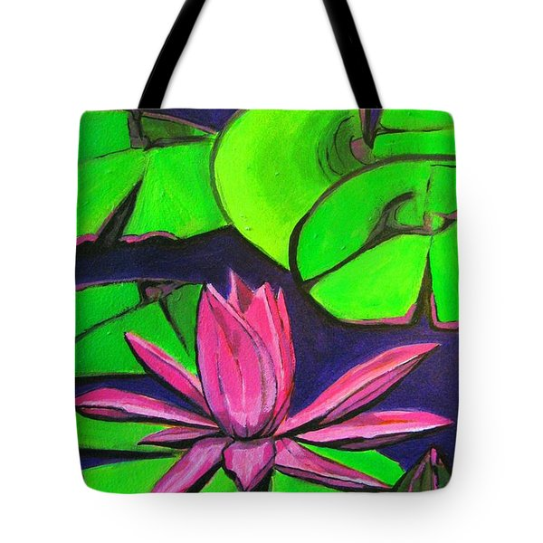 Botanical Lotus 1 Tote Bag by Grace Liberator