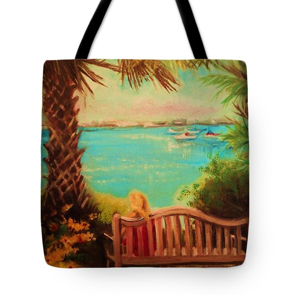 Botanical View Tote Bag