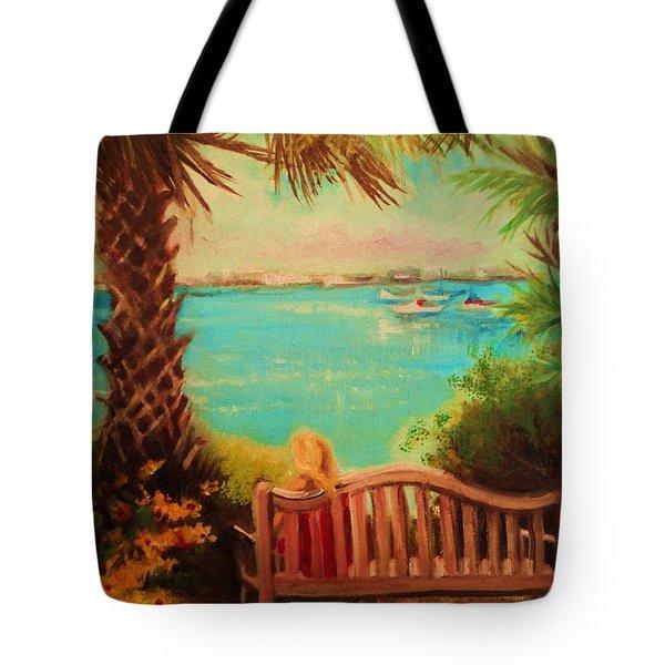Botanical View Tote Bag by Yolanda Rodriguez