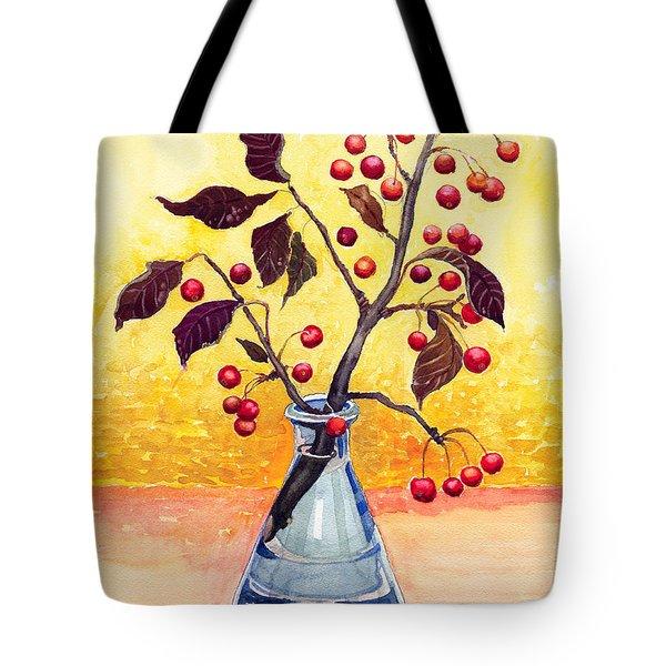 Bottled Autumn Tote Bag by Katherine Miller