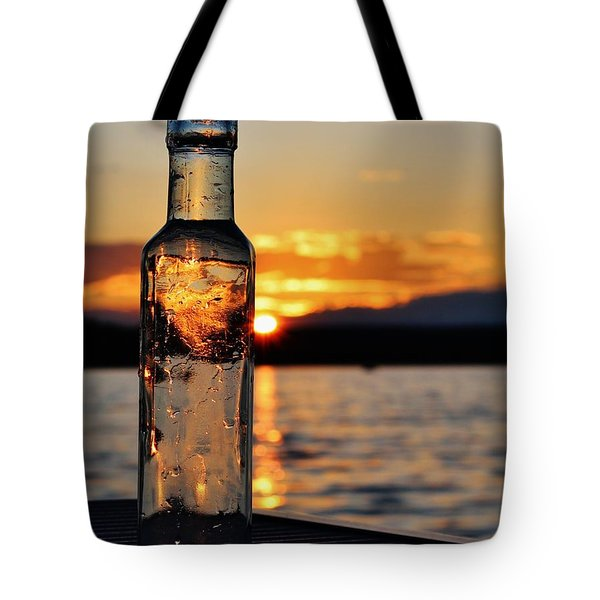 Bottled Sun Tote Bag