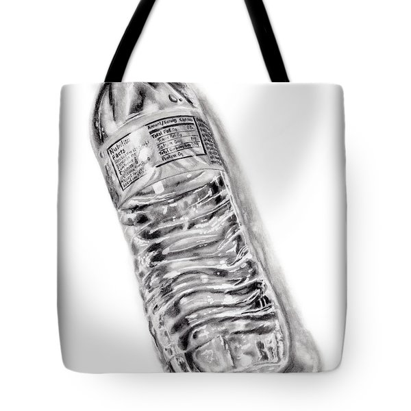 Bottled Water Tote Bag by Dale Jackson