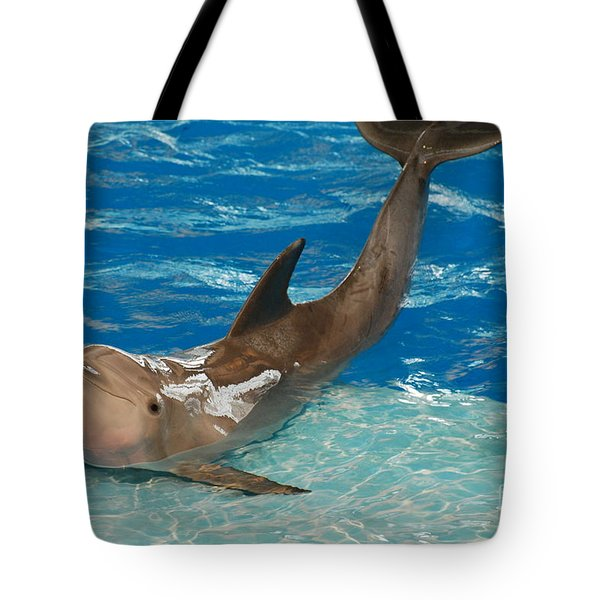 Bottlenose Dolphin Tote Bag by DejaVu Designs