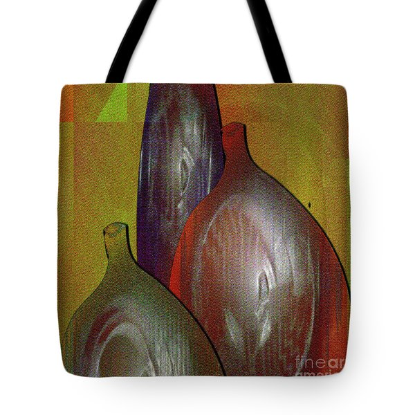 Bottles 2 Tote Bag