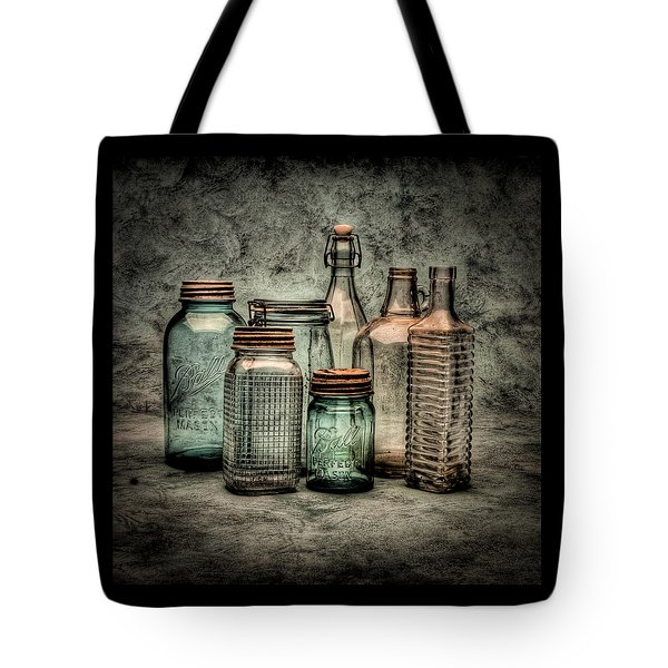 Bottles II Tote Bag by Timothy Bischoff