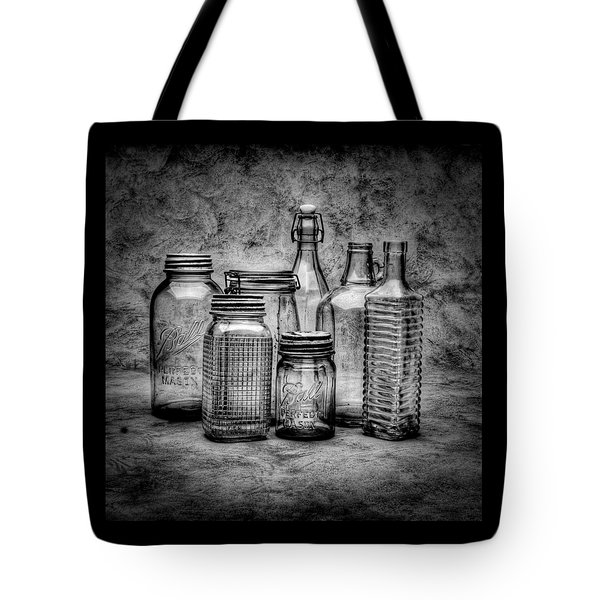 Bottles Tote Bag by Timothy Bischoff