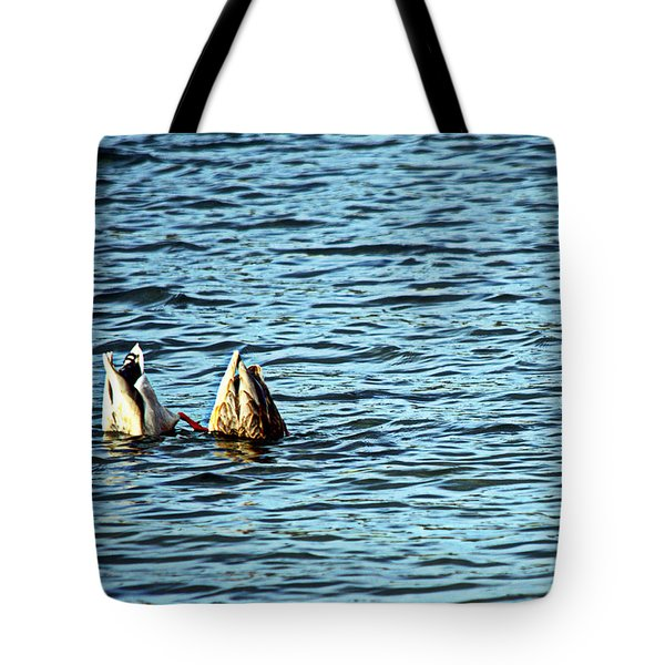 Bottoms Up Tote Bag by Cathy Shiflett
