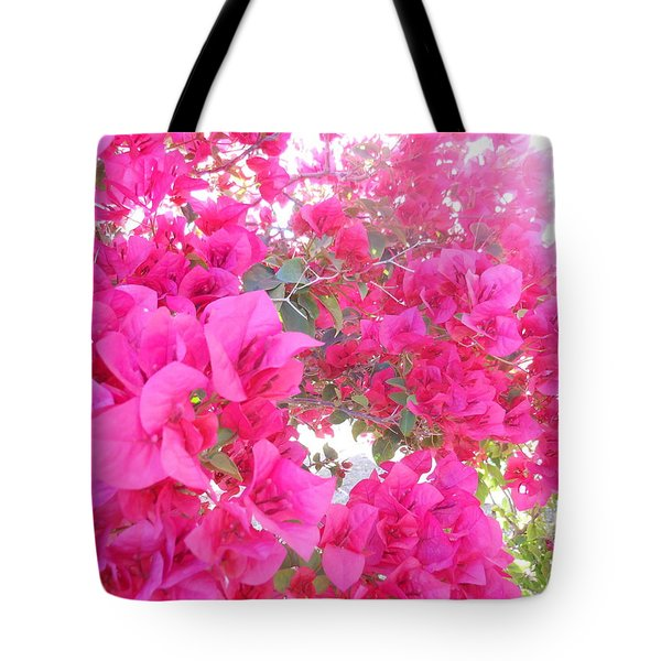Tote Bag featuring the photograph Bougainvillea by Kay Gilley