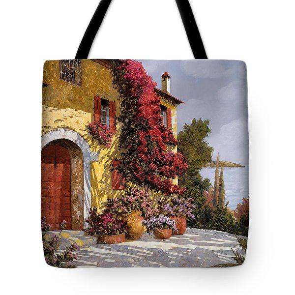 Bouganville Tote Bag by Guido Borelli