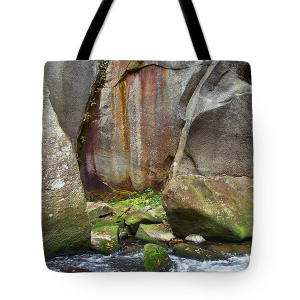Boulders By The River Tote Bag