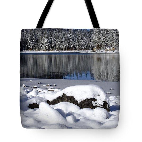 Boulders Of Mcleod Tote Bag by Chris Brannen
