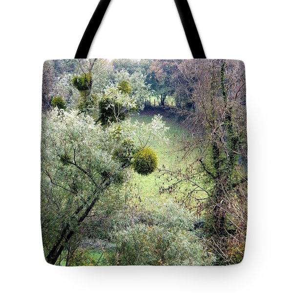 Mistletoe Ball Tote Bag