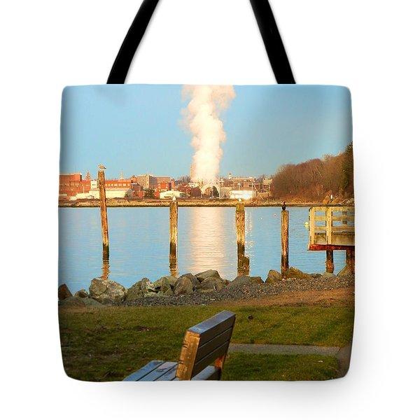 Boulevard's Golden Pillar Tote Bag