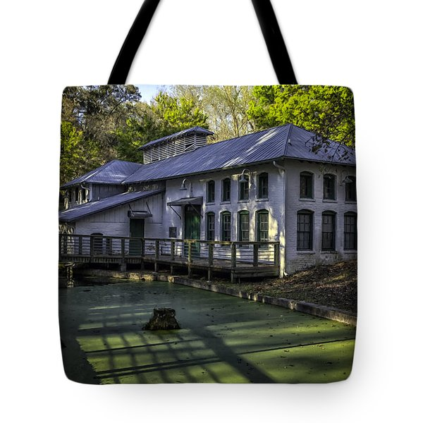 Boulware Springs Water Works Tote Bag by Lynn Palmer