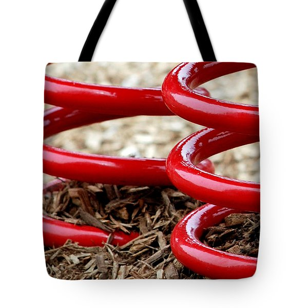 Bounce Tote Bag by Lisa Phillips
