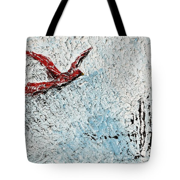 Bound To Fly Tote Bag
