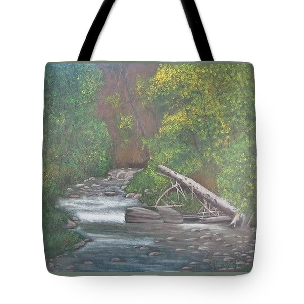 Boundary Creek  Bc Tote Bag