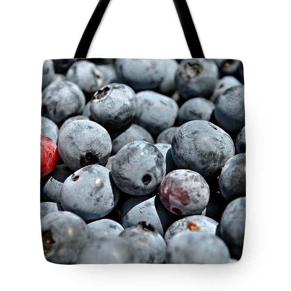 Tote Bag featuring the photograph Bountiful Blueberries by Kelly Nowak