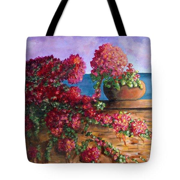 Bountiful Bougainvillea Tote Bag