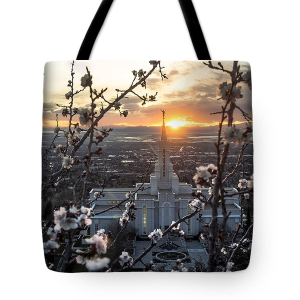 Bountiful Spring Tote Bag