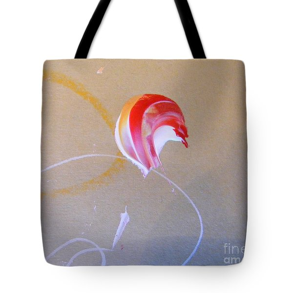 Tote Bag featuring the painting Bouquet 4 by Nancy Kane Chapman