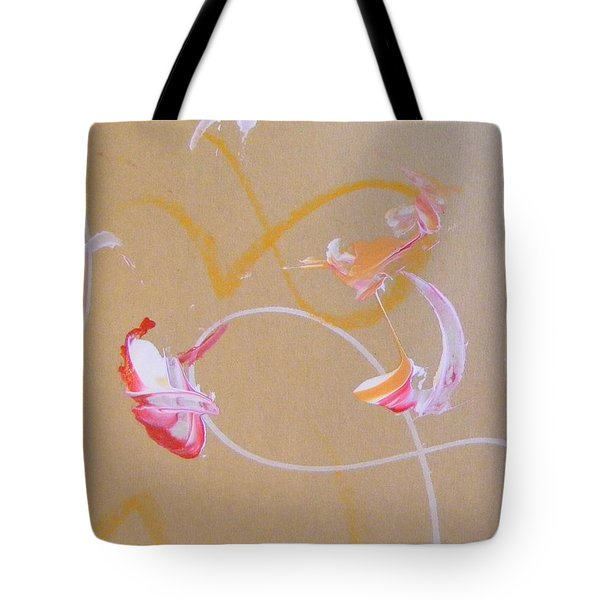 Tote Bag featuring the painting Bouquet 5 by Nancy Kane Chapman