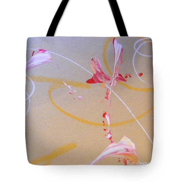 Tote Bag featuring the painting Bouquet 6 by Nancy Kane Chapman