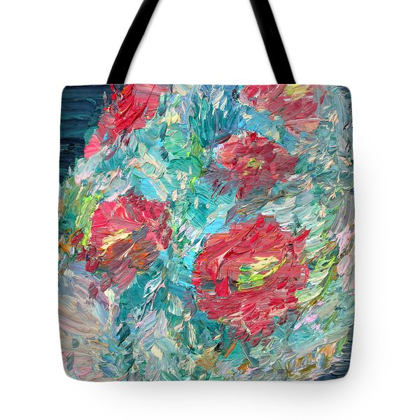 Bouquet Tote Bag by Fabrizio Cassetta