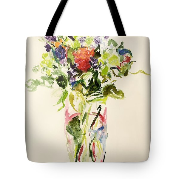 Bouquet  Tote Bag by Julie Held