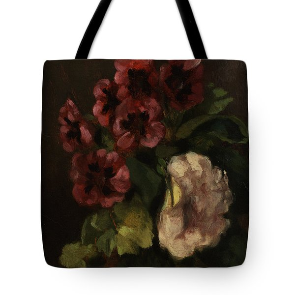 Bouquet Of Flowers Tote Bag