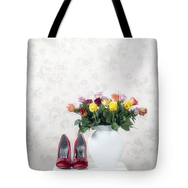 Bouquet Of Roses Tote Bag by Joana Kruse