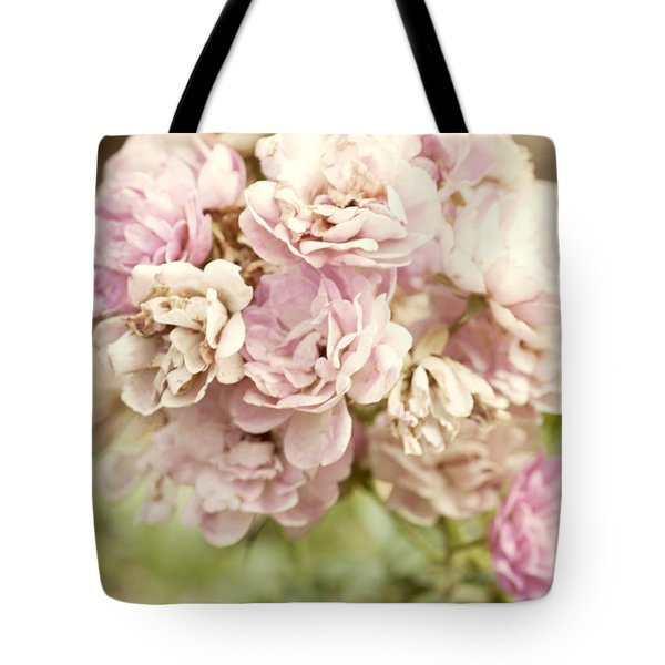 Bouquet Of Vintage Roses Tote Bag