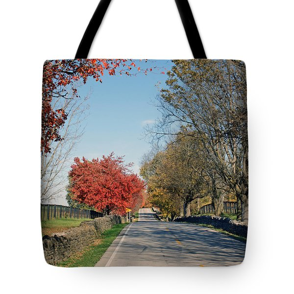 Bourbon County Fall Tote Bag by Roger Potts