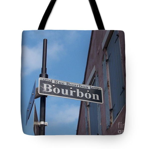 Bourbon Street Tote Bag by Kevin Croitz