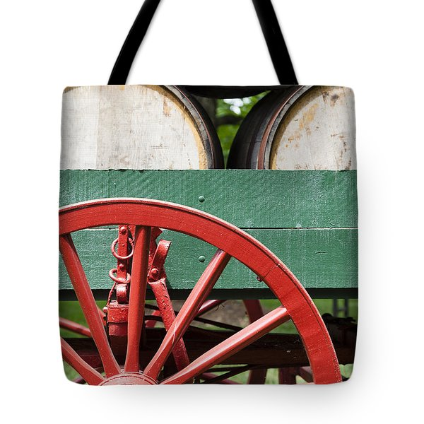 Bourbon Wagon Tote Bag