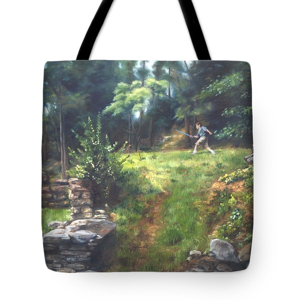 Bouts Of Fantasy Tote Bag by Lori Brackett