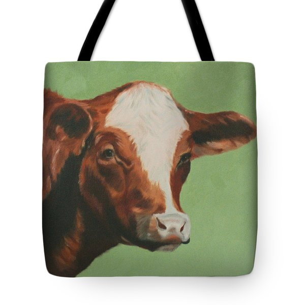 Bovine Beauty Tote Bag