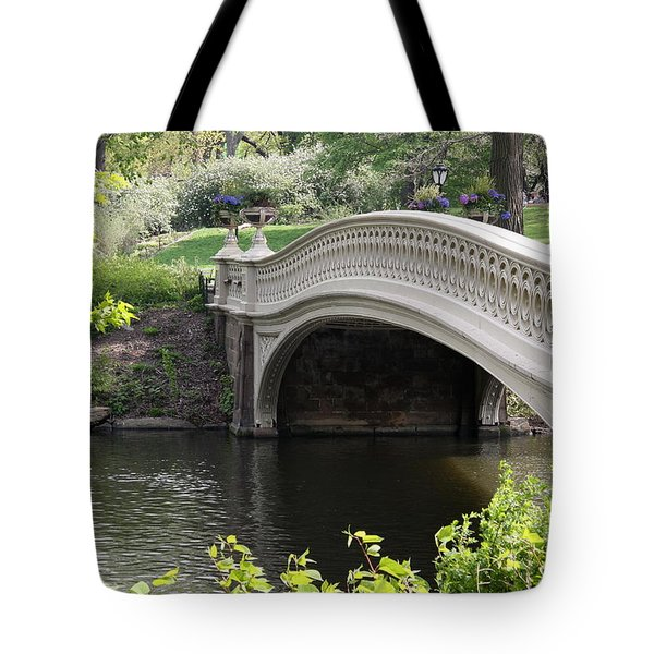 Bow Bridge Iv Tote Bag by Christiane Schulze Art And Photography