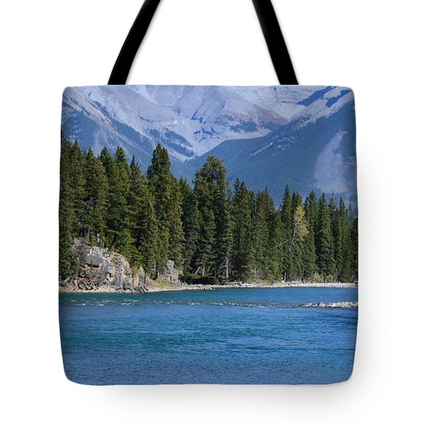 Bow River  Tote Bag by Cheryl Miller